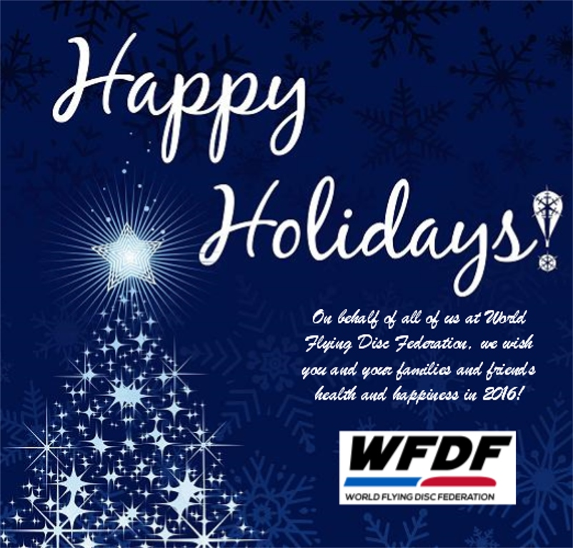 WFDF 2015 Holiday Greeting