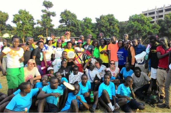 Impression eines  Discport-Entwicklungsprojekts in Kenia