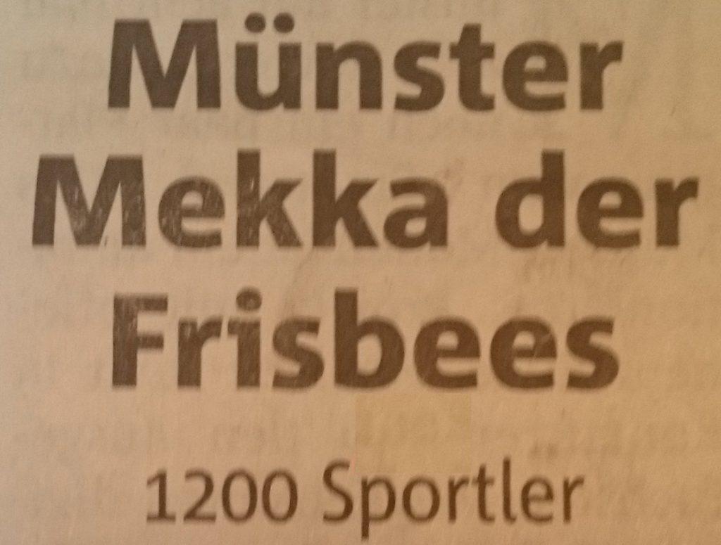Mekka-des-Frisbeesports