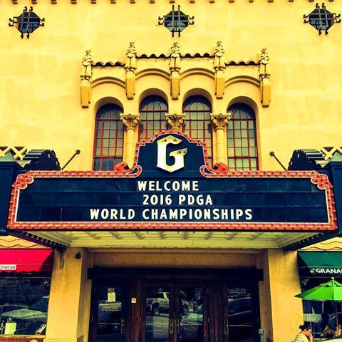 PDGA-WM2016-Start