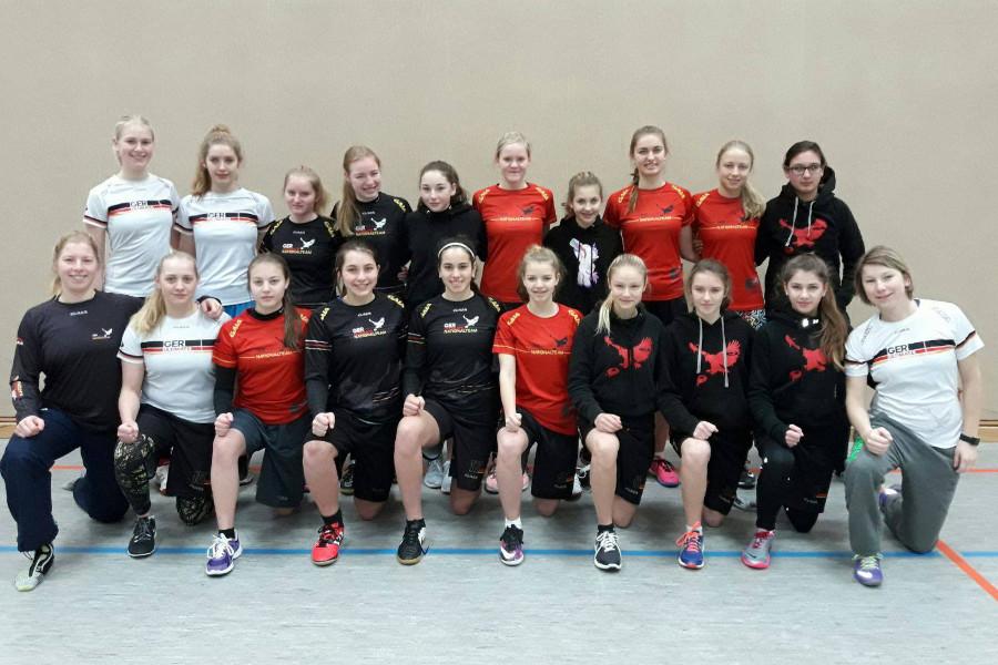 Trainingslager der U17 Mädchen